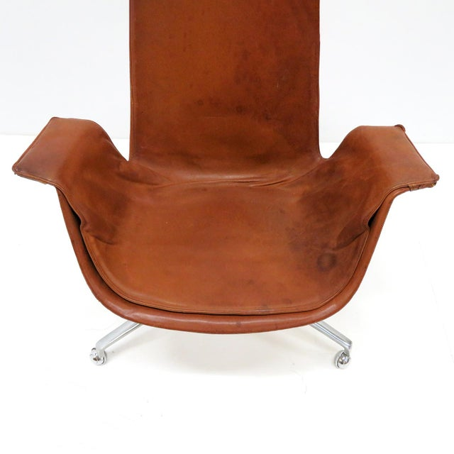 1960s 1960s Vintage Preben Fabricius Jorgen Kastholm Bird Chair For Sale - Image 5 of 12