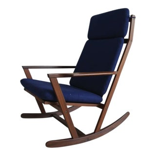 Rocking Chair by Poul Volther For Sale