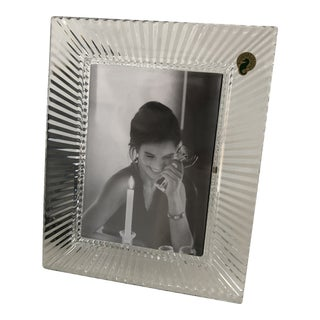 Waterford Crystal Ireland Picture Frame With Sock in Box For Sale