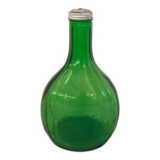 Vintage Duraglas Green Water Bottle For Sale
