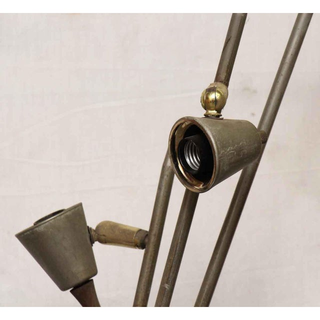 Mid-Century Metal Floor Lamp - Image 4 of 7