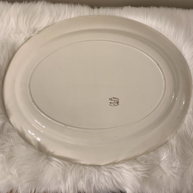 Royal Staffordshire Tonquin Brown Turkey Platter For Sale In Los Angeles - Image 6 of 12