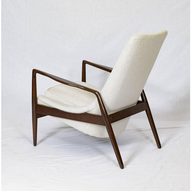 1960s Danish Lounge Chair For Sale - Image 5 of 9