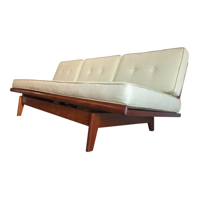 Vintage Mid Century Modern Pull Out Day Bed Sofa Chairish