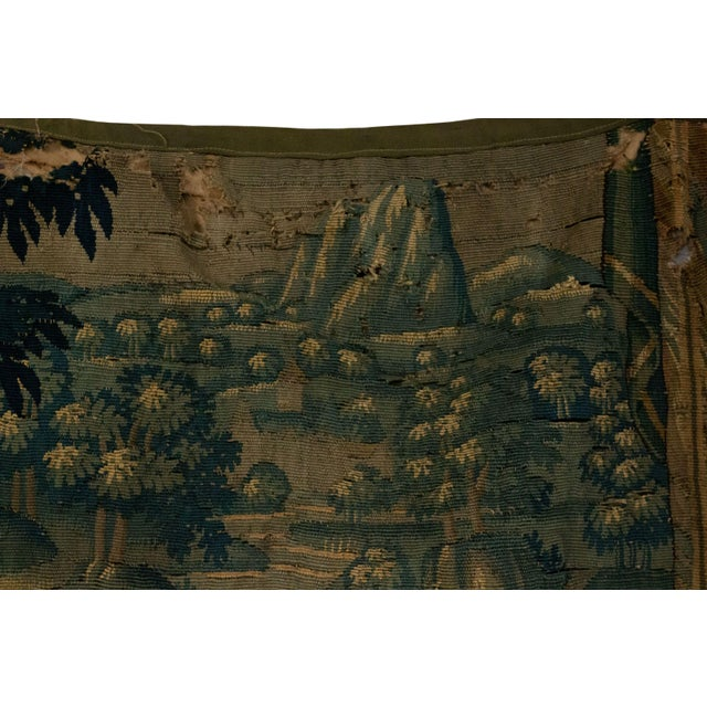 Antique Late 17th/Early 18th Century Belgian Tapestry Depicting Soldiers in a Genre Scene For Sale In New York - Image 6 of 8