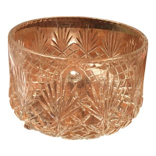 Crystal Clear Footed All Purpose Bowl