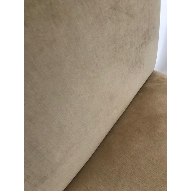 2010s Modern Mitchell Gold + Bob Williams Slipper Armless Accent Chair For Sale - Image 5 of 7