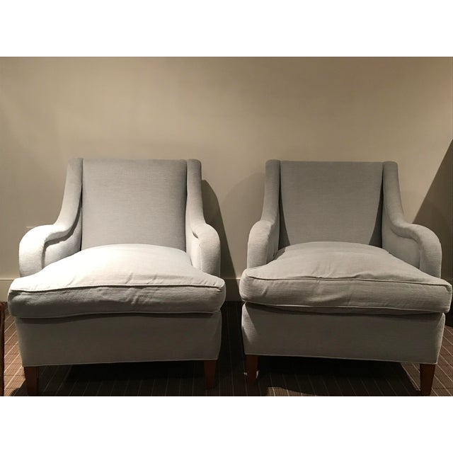 Reupholstered Art Deco Armchairs - A Pair - Image 2 of 6