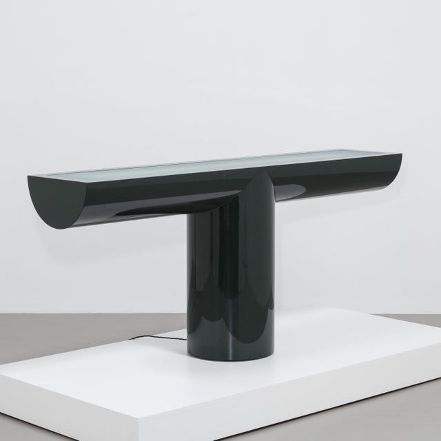 A Lacquered Cantilevered Console Lightbox 1970s - Image 2 of 10