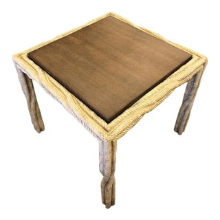 Transitional Century Furniture Finch Side Table For Sale