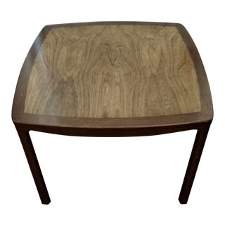 1950s Mid-Century Modern Edward Wormley for Dunbar Mahogany Rosewood Side Table For Sale