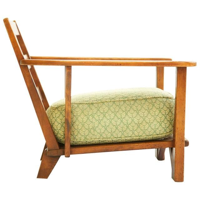 Herman DeVries Herman DeVries Paddle-Arm Lounge Chair For Sale - Image 4 of 10