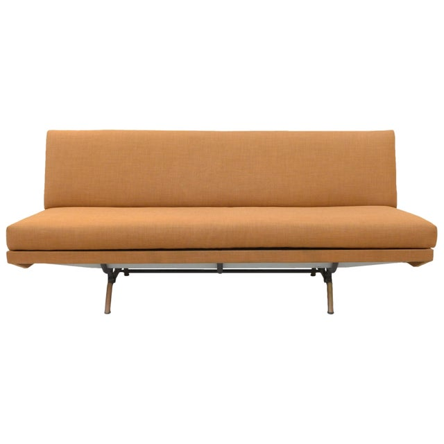"A wonderful and rare version of the ""Sleep-O-Matic"" Sofa by Marco Zanuso for Airflex. An unusual variant on this..."