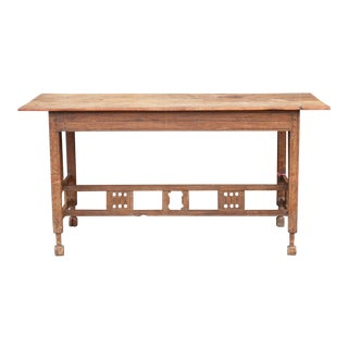 Antique Arts and Crafts Table For Sale