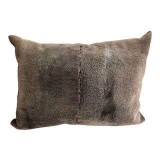 Faux Fur Throw Pillow For Sale