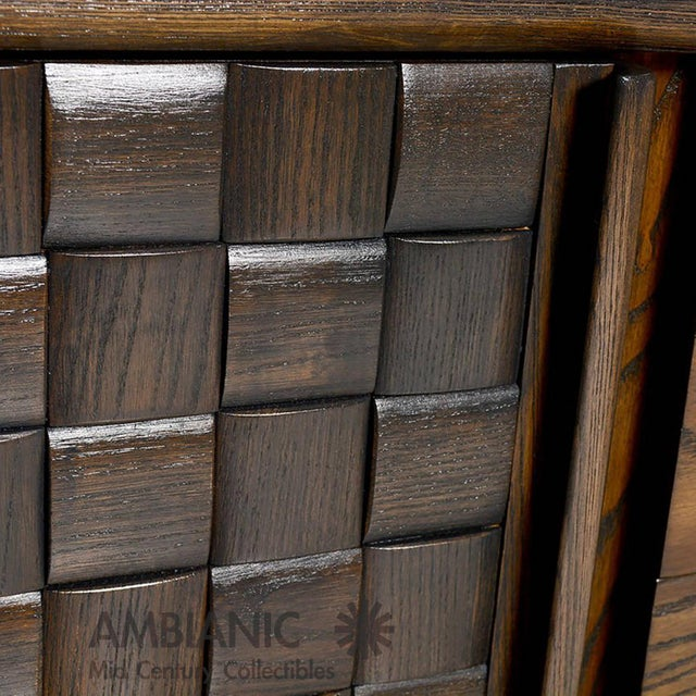 Modern Checkered Credenza by Paul Laszlo for Brown Saltman For Sale - Image 9 of 10