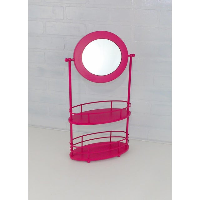 Pink Vanity Mirror & Shelf For Sale In Sacramento - Image 6 of 10