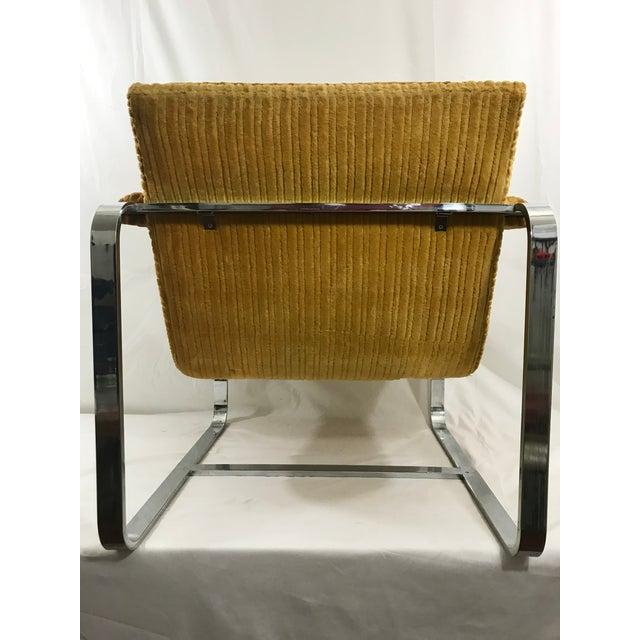Milo Baughman Milo Baughman Arm Chair For Sale - Image 4 of 9