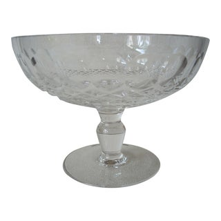 1980s Waterford Crystal Compote For Sale