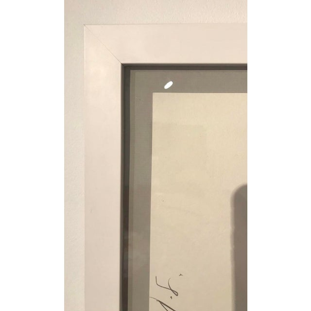 Modern Donald Sultan Yellow Iris Lithograph 1982 For Sale - Image 3 of 6