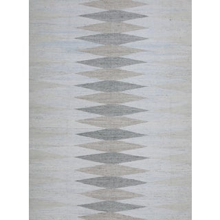Schumacher Patterson Flynn Martin Avesta Hand Woven Geometric Rug For Sale