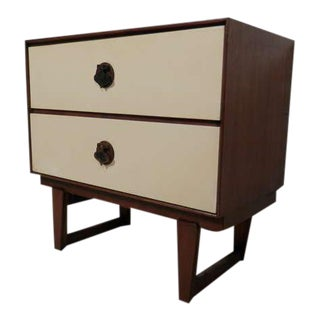 Vintage Spade Handle Nightstand By Stanley