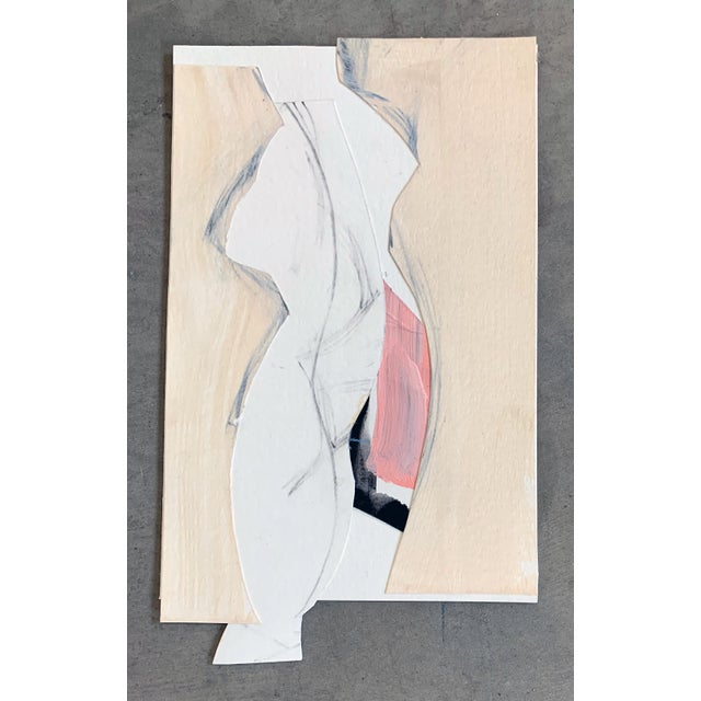 Art works on paper created during covid 19. This series of works are made intuitively using paper, to create a portrait of...