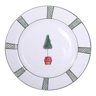 Vintage Giardino Dinner Plate, Deruta of Italy For Sale