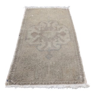 Muted Tone Oushak Area Rug - 1′8″ × 2′8″