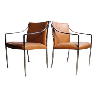Pair of Stow Davis Chairs by Bert England For Sale