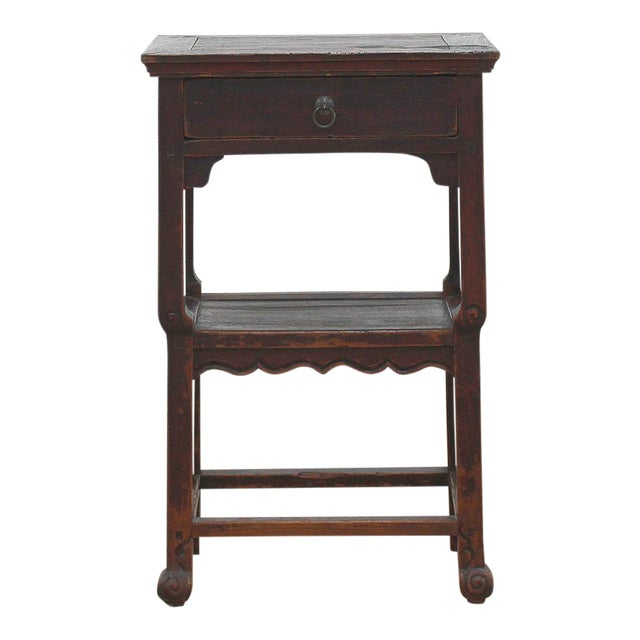 Antique Ming Style Side Table - Image 1 of 3