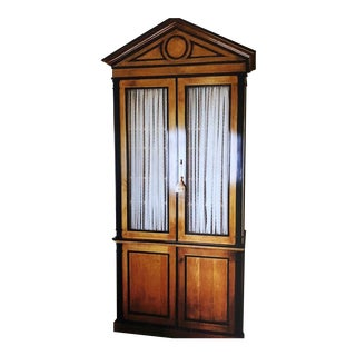Bespoke Michael Taylor American Classical Cabinet - 3 Pieces For Sale