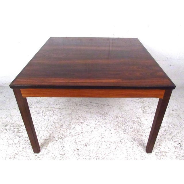Mid-Century Modern Mid-Century Bruksbo Rosewood Coffee Table by Haug Snekkeri For Sale - Image 3 of 9