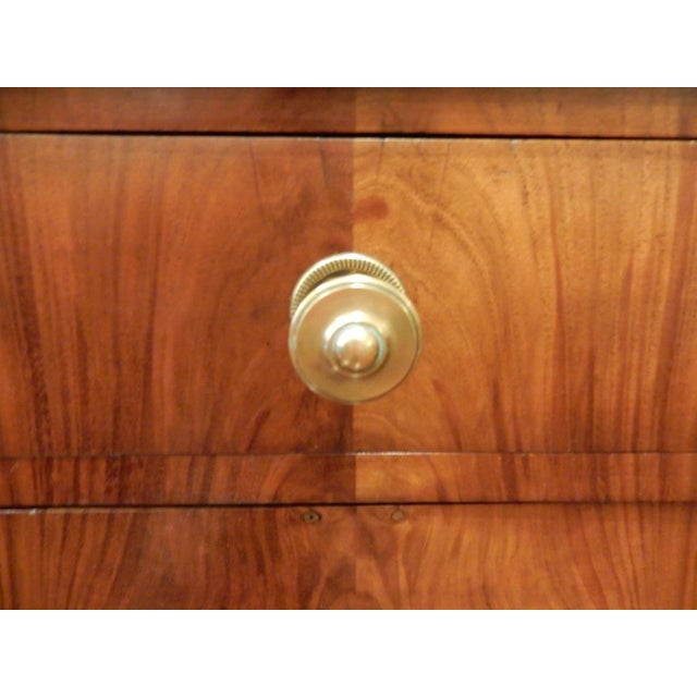 Pair of 19th C Charles X French Walnut Bedside Cabinets For Sale In New Orleans - Image 6 of 11