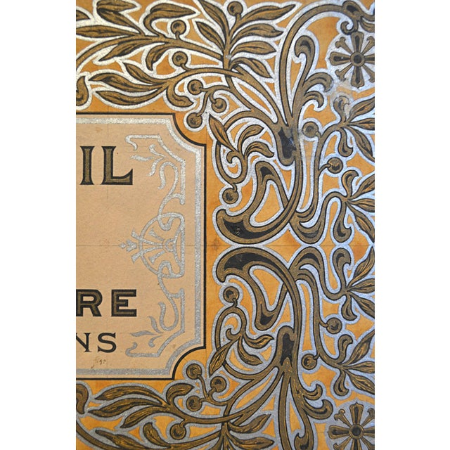 Early 20th Century Graphic Illustration Board for Olive Oil Can Label For Sale - Image 5 of 5