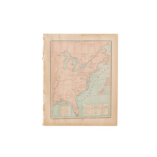 American Cram's 1907 Map of Original Territories For Sale - Image 3 of 3