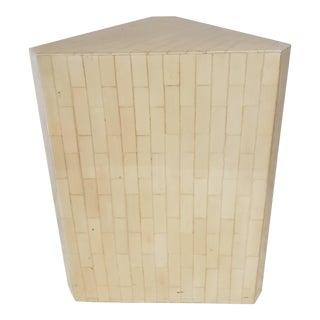 Vintage Bone Inlay Pedestal For Sale