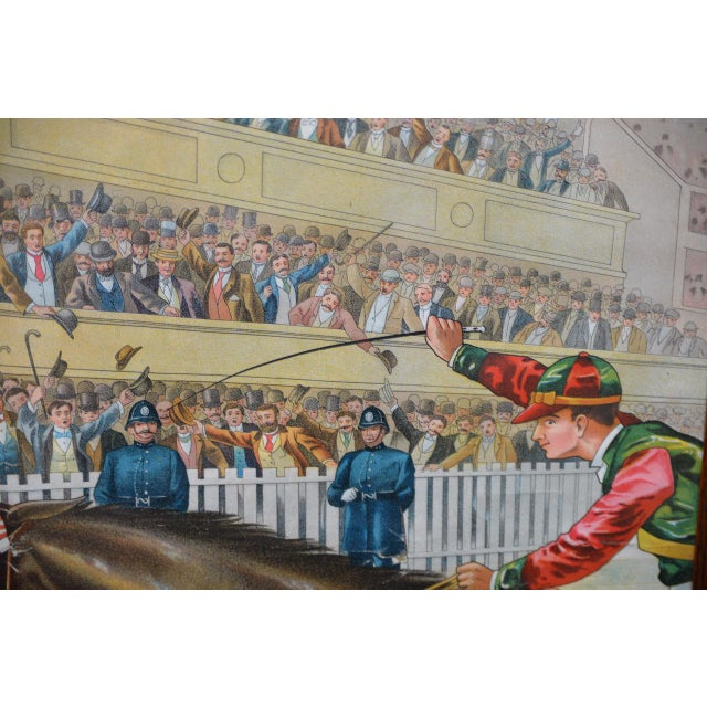 Blue 1001 to 1 Tyrconnell Wins! Victorian Whiskey Poster C.1900 For Sale - Image 8 of 12