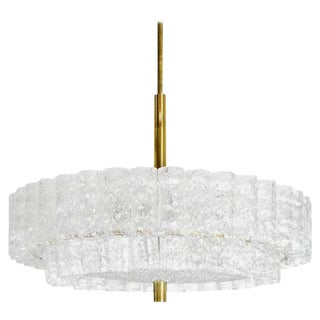 1960s Murano Glass Chandelier by Doria Leuchten For Sale