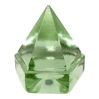 Vintage Glass Deck Prism For Sale