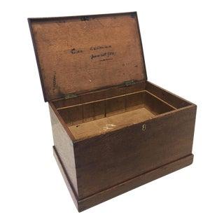 Vintage Wooden Keepsake Box