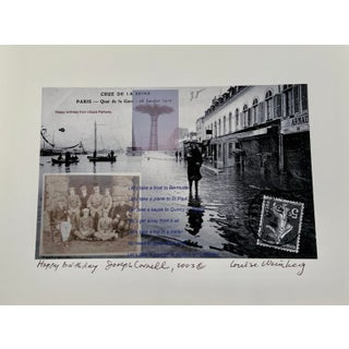 """""""Happy Birthday, Joseph Cornell"""" Contemporary Photograph Print by Louise Weinberg For Sale"""