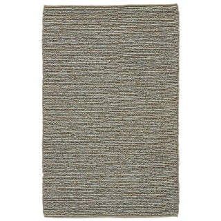 Jaipur Living Havana Natural Blue/ Beige Area Rug - 5′ × 8′ For Sale