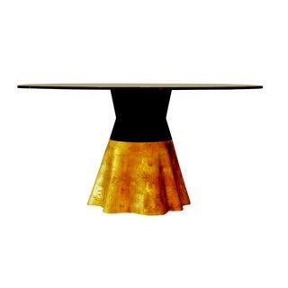 "Costantini 21st Century Round Cast Bronze ""Tavola 9"" Dining Table For Sale"