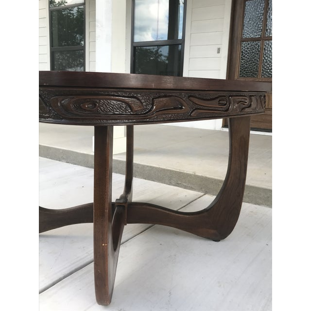 Pulaski Furniture Oceanic Table, Attributed to Witco For Sale - Image 10 of 13