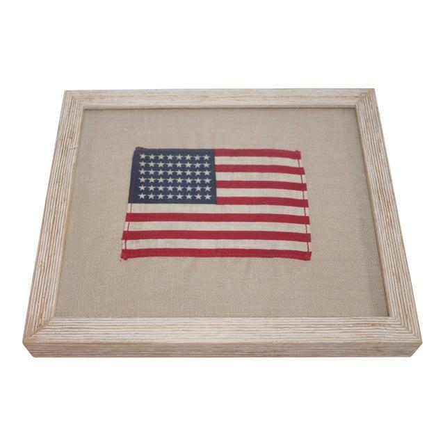 0fc3194faff1 Framed American Flag Textile For Sale