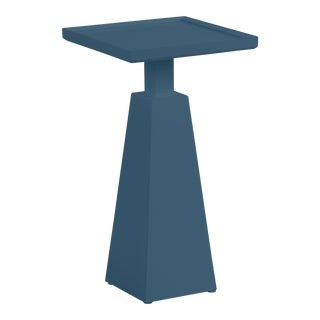 Casa Cosima Hayes Spot Table, Van Deusen Blue For Sale
