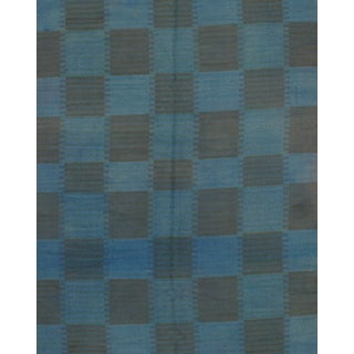 "Scandinavian Modern Kilim Rug - 7'9"" X 9'8"" For Sale"