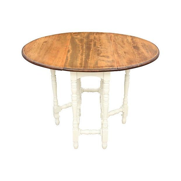 Queen Anne-Style Gateleg Table - Image 3 of 7