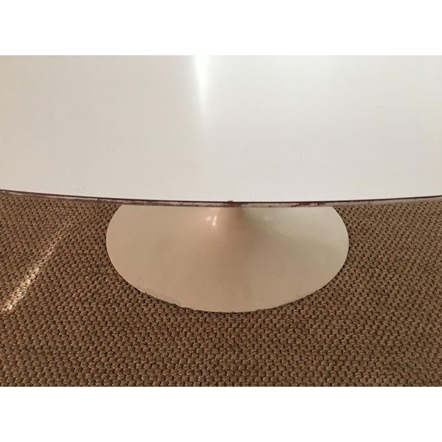 1960's Early Saarinen for Knoll Oval Tulip Dining Table For Sale - Image 10 of 11